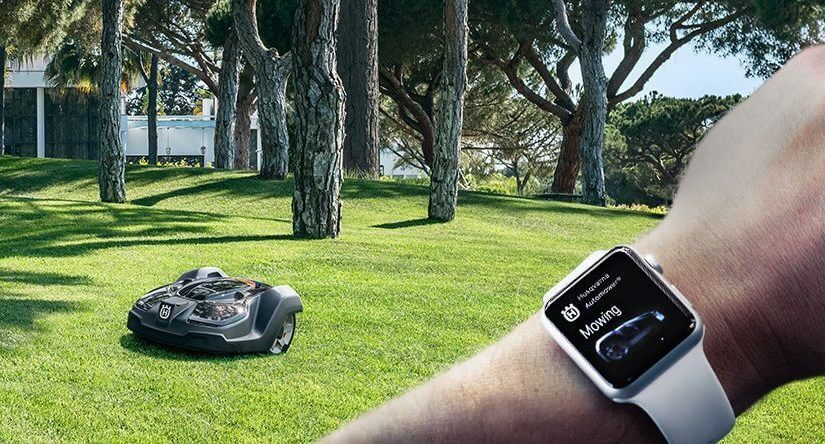 The official Husqvarna app allows you to take full control of your Husqvarna robotic lawnmower.