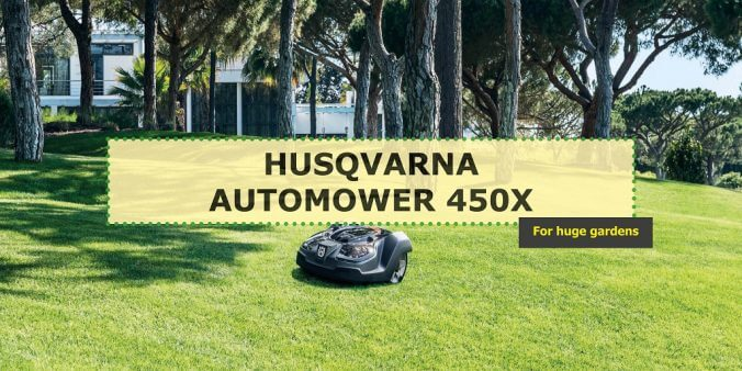 Husqvarna 450x: the review of most advanced robotic lawmower