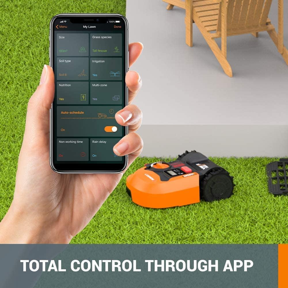 wr140-Landroid m 20v robotic lawn mower